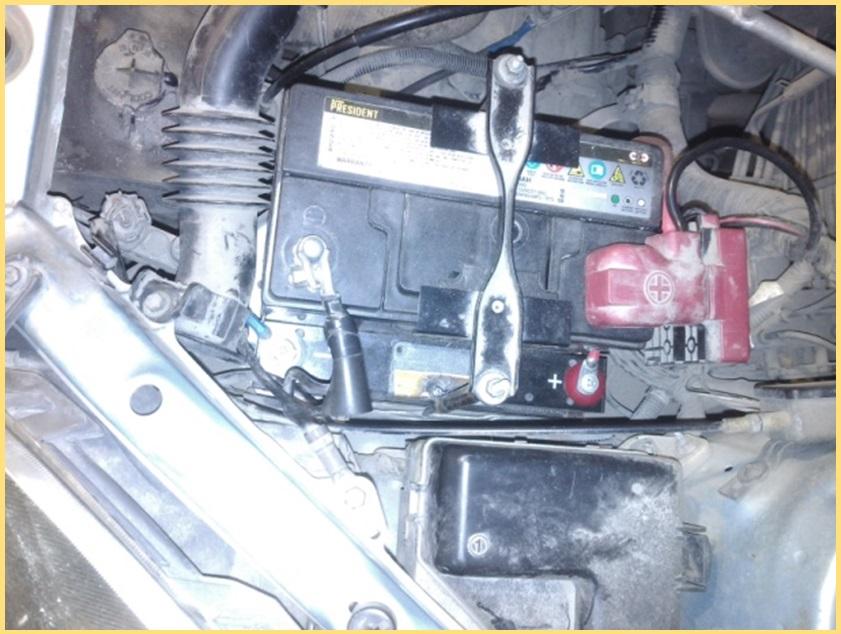 Toyota vitz, 1 литр, бензин. Модуль МСКА-54-16