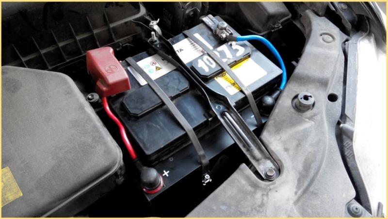 Toyota Camry, 2,4 литра, бензин. Модуль МСКА-108-16-К