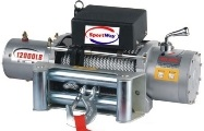 Лебедка автомобильная электрическая SportWay PS12000 12V