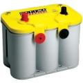 Аккумулятор Optima Yellow Top U-4.2 (стартерно-тяговый, прямая полярность + две боковые клеммы)