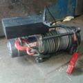 Автомобильная электрическая лебедка СПРУТ 9000 12V Б/У