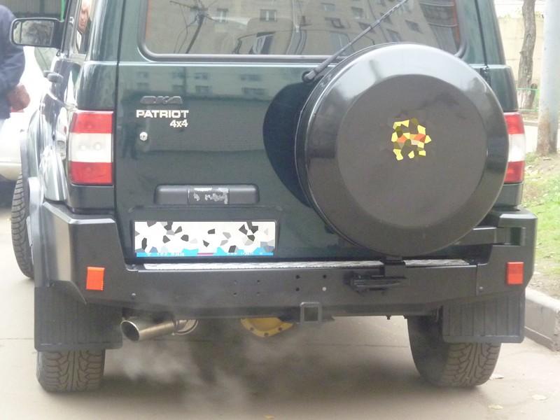 Бампер RIF для УАЗ Патриот c фаркопом и калиткой под запаску RIF060-21120 по заслугам оценят владельцы Патриотов.