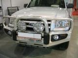 Бампер передний алюминиевый Ironman Ford Ranger 07- BBA014