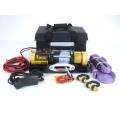 Лебедка переносная электрическая T-max ATW-PRO 2500 для снегоходов и легковых автомобилей 12В W0927
