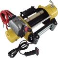 Электрическая лебедка для эвакуатора T-max CEW 9000 Commercial 24V W0266