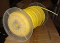 Синтетический трос для лебедки желтый (Китай) 8mm