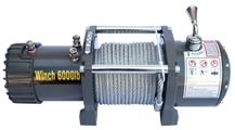 Автомобильная электрическая лебедка CM Winch 6000 12V